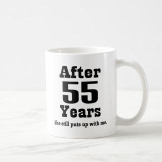 55th Anniversary (Funny) Coffee Mugs