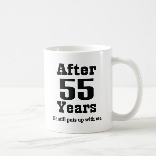 55th Anniversary (Funny) Mug