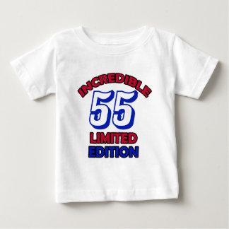 55th Birthday Design Tee Shirt