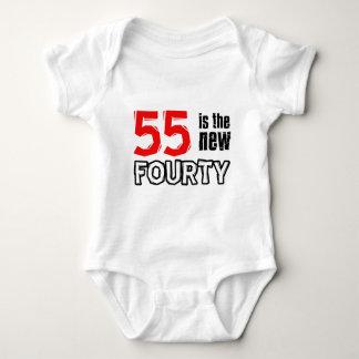 55th birthday designs tshirt