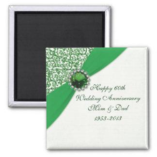 55th Wedding Anniversary Magnet