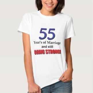 55th Wedding Anniversary T Shirt