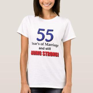 55th Wedding Anniversary T-Shirt
