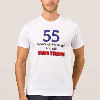 55th Wedding Anniversary Tee Shirt