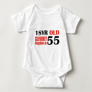 55th year old designs tee shirts