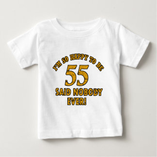 55th year old gifts shirts