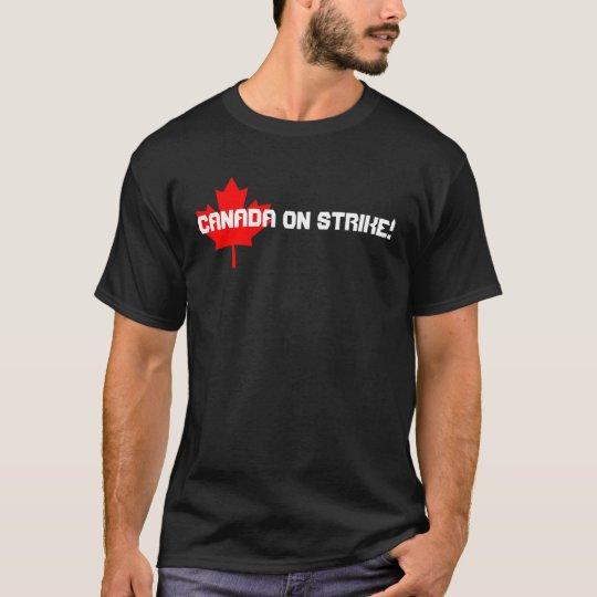 562px-Canada_Maple_Leaf.svg, Canada on STRIKE! T-Shirt