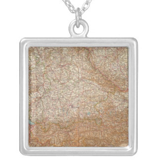 5657 South Germany, Austria Silver Plated Necklace