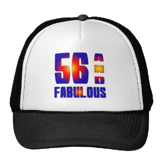 56 And Fabulous Mesh Hats