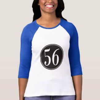 #56 Black Circle T-Shirt