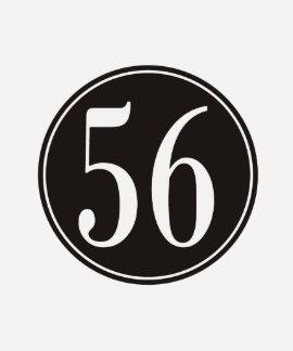 #56 Black Circle Tees