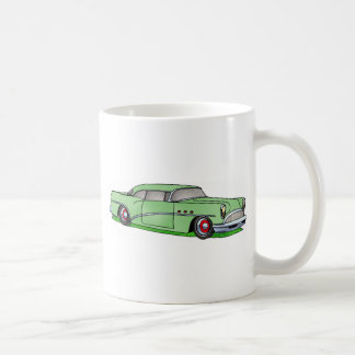 56 Buick 2 door Hardtop Basic White Mug