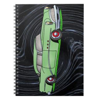 56 Buick 2 door Hardtop Spiral Notebooks