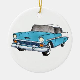 56 Chevrolet Belair Christmas Ornament