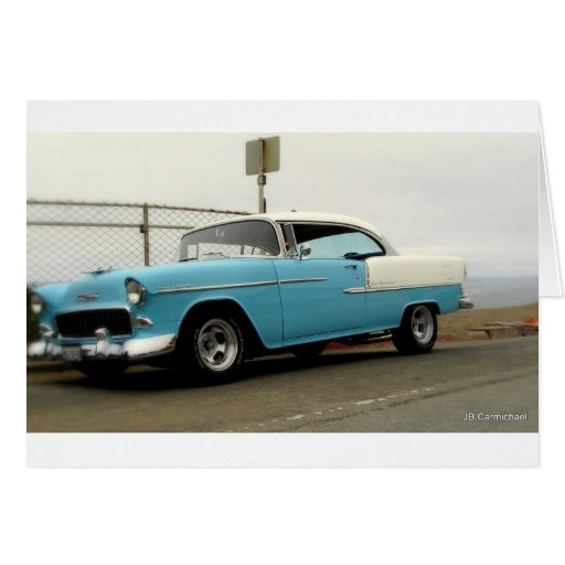 56 Chevy Belair Greeting Cards