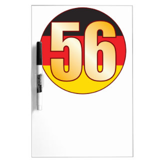56 GERMANY Gold Dry Erase Board