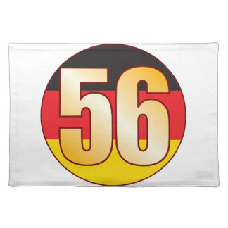 56 GERMANY Gold Placemat