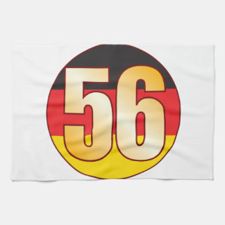 56 GERMANY Gold Towel