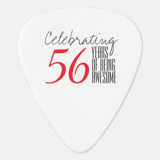 56 years of being awesome plectrum