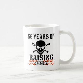 56 years of raising hell coffee mug