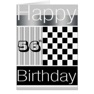 56th Birthday Greeting Card