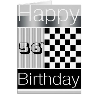 56th Birthday Greeting Card
