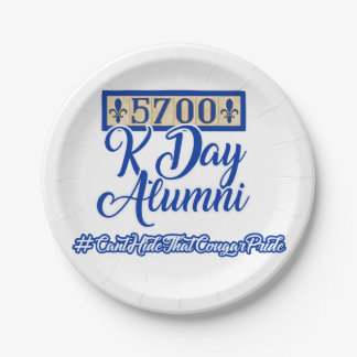 5700 K Day Paper Plates 7 Inch Paper Plate
