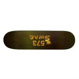 573 Area Code Swag 18.1 Cm Old School Skateboard Deck