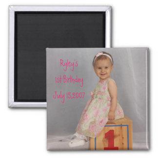 578018313_04 Ryley s1st BirthdayJuly 15 2007 Fridge Magnets