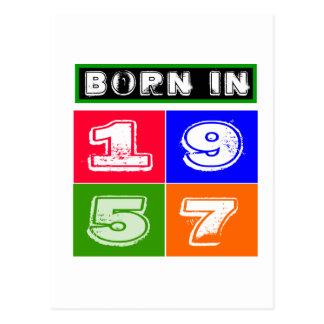 57 Birthday Designs` Postcard