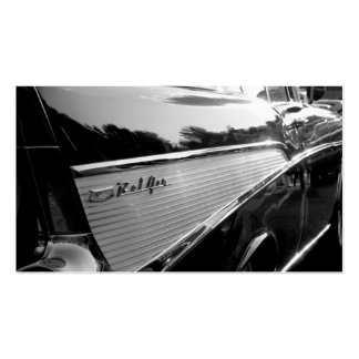 57 Chevy Bel Air Business Card Template