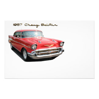 57 Chevy BelAir stationery