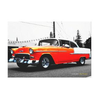 57 Chevy Canvas Prints