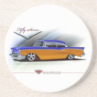 57-chevy coasters