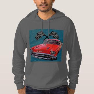 57 Chevy Hooded Sweatshirts