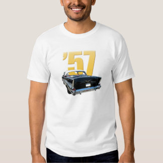 '57 Chevy Rear View T Shirts