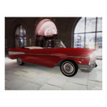 '57 Chevy - Red - HIGH Resolution! Posters