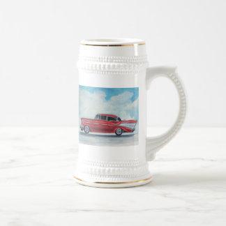 57 CHEVY RED COFFEE MUG