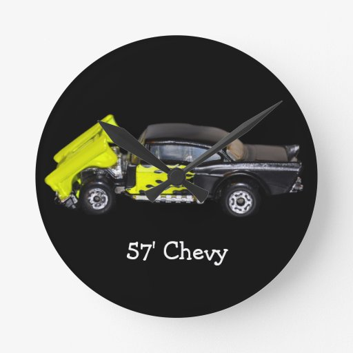 57' Chevy - Round Wall Clock