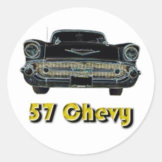 57 Chevy Sticker