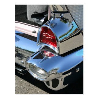 '57 Chevy Tail Light - Postcard