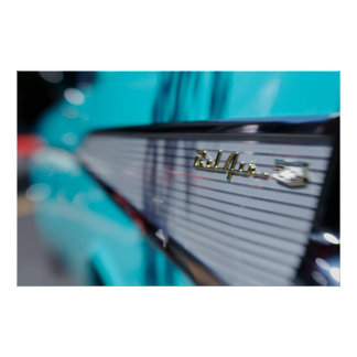 '57 Chevy Tailfin Poster