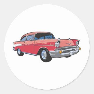 57 Classic Car Sticker