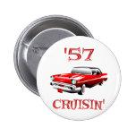 57 Crusin Car Button