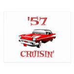 57 Crusin Car Post Cards