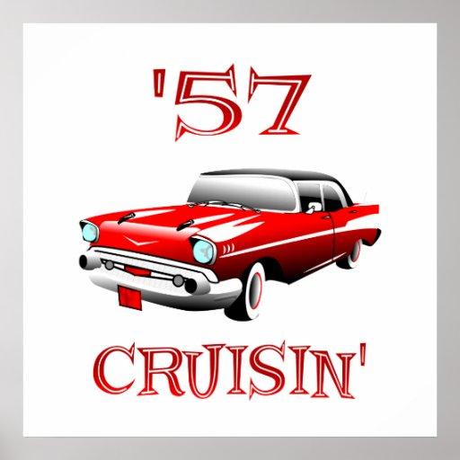 57 Crusin Print