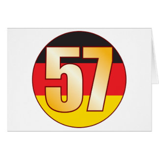 57 GERMANY Gold Card