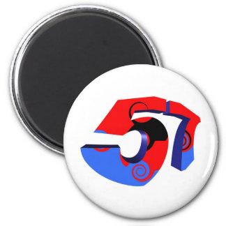 57 6 CM ROUND MAGNET