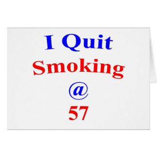 57 Quit Smoking Card