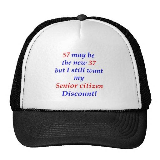 57 Senior Citizen Trucker Hats